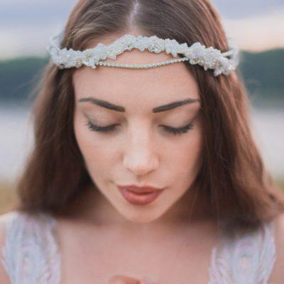 Wianek koronkowy Eliza