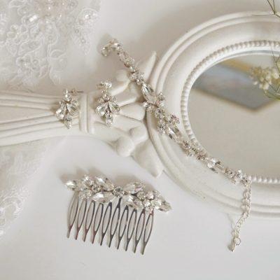 Komplet biżuterii Glamour