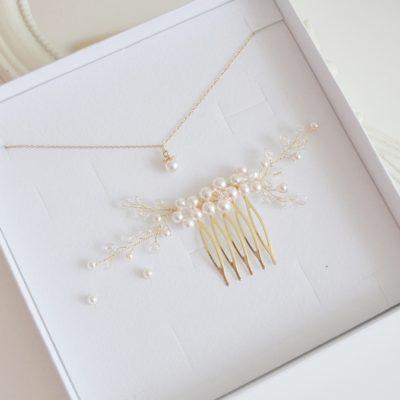 Komplet biżuterii Kadia