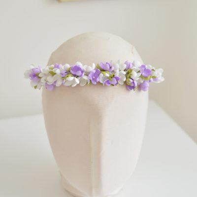 Półwianek biało – fioletowy